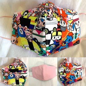 TOKIDOKI face mask with filter